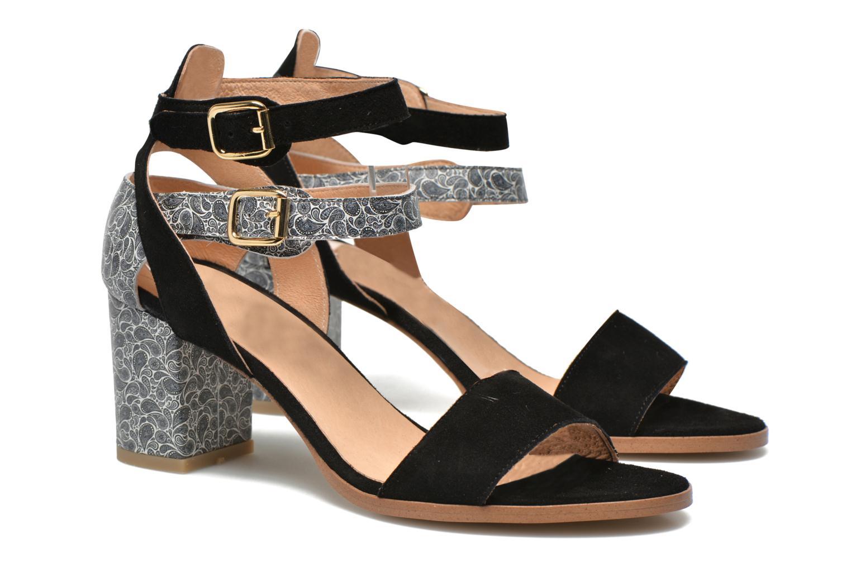 Sandales et nu-pieds Made by SARENZA Discow Girl #3 Multicolore vue droite