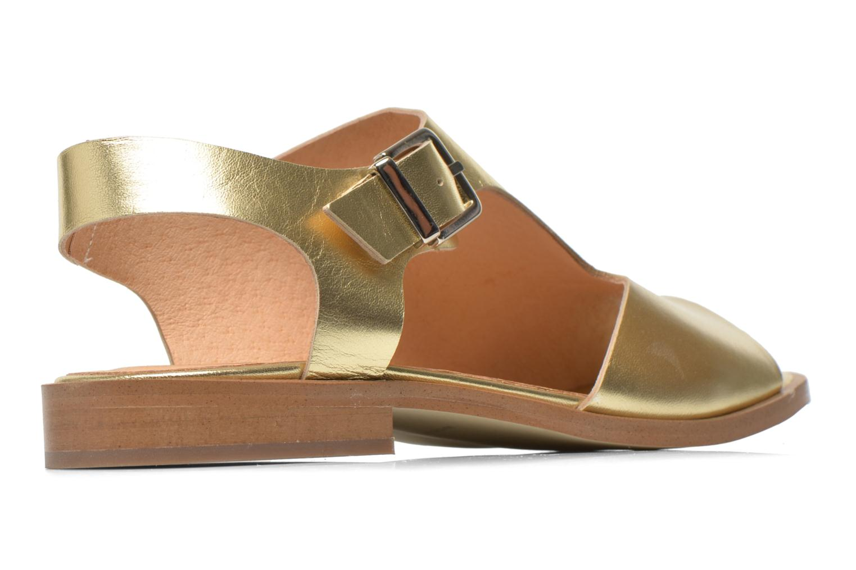 Sandalias Made by SARENZA Menthe Hello #13 Oro y bronce vista del modelo