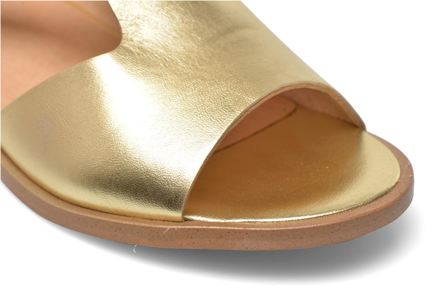 Sandals Made by SARENZA Menthe Hello #13 Bronze and Gold back view