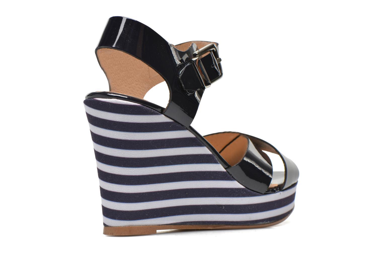 Sandalen Made by SARENZA Menthe Hello #15 blau schuhe getragen