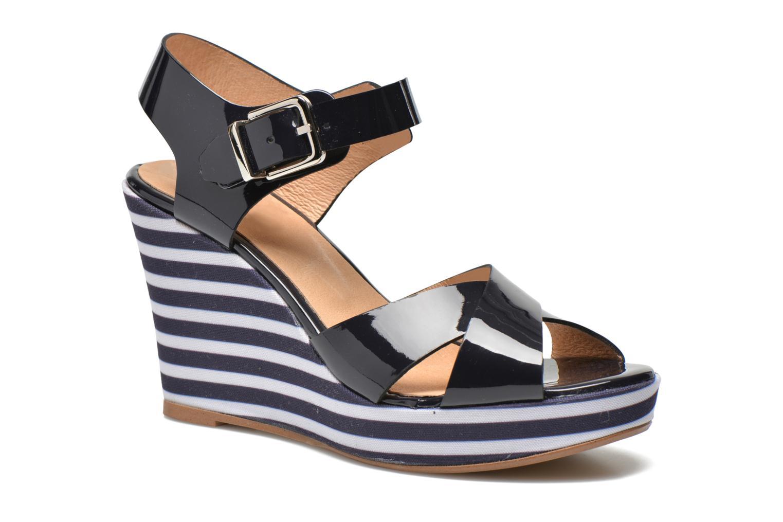Sandalen Made by SARENZA Menthe Hello #15 blau ansicht von vorne