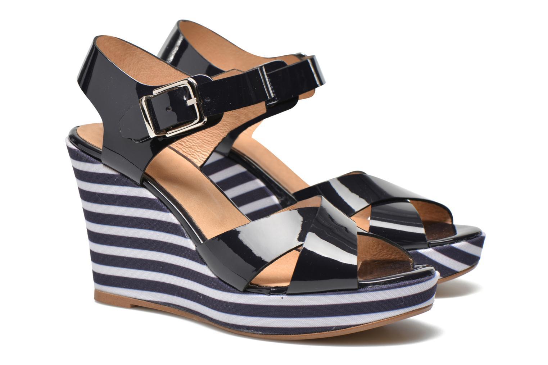 Sandalias Made by SARENZA Menthe Hello #15 Azul vista lateral derecha
