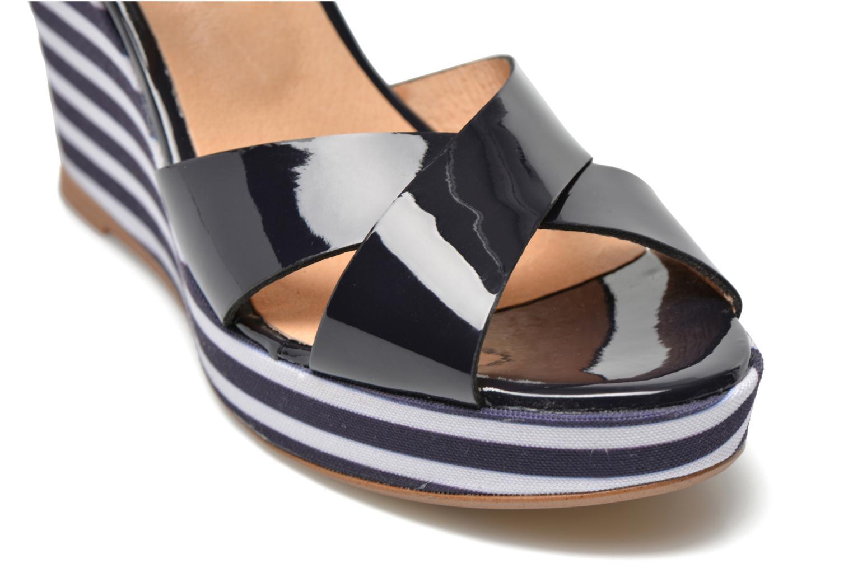 Sandalen Made by SARENZA Menthe Hello #15 blau ansicht von hinten
