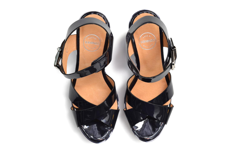 Sandalen Made by SARENZA Menthe Hello #15 blau ansicht von oben