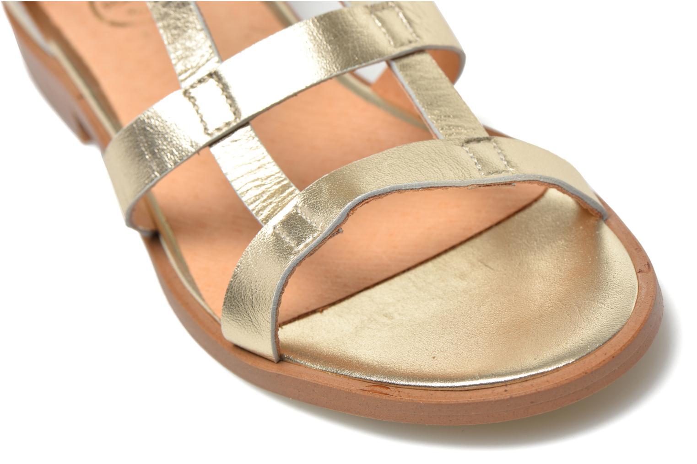 Sandali e scarpe aperte Made by SARENZA Square Simone#6 Oro e bronzo immagine posteriore