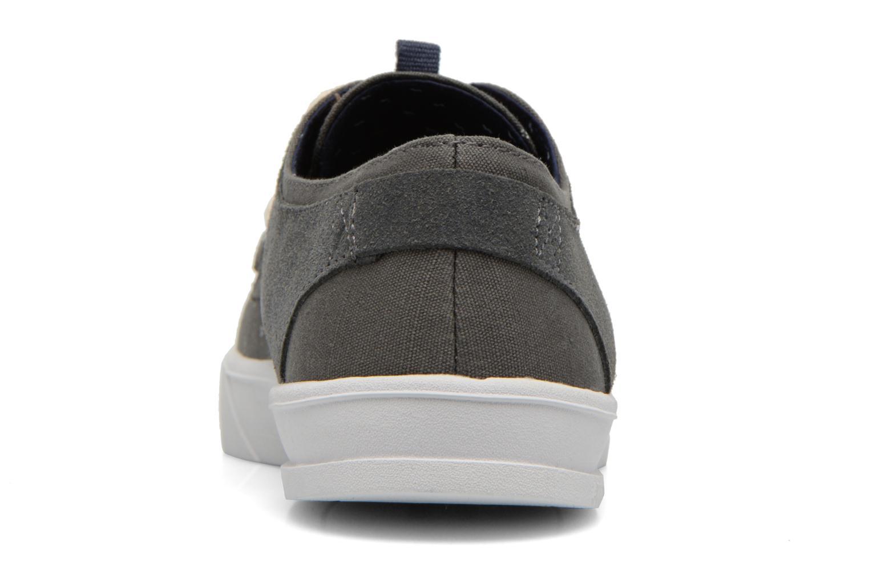 Sneaker Armistice Border Derby Ash Suede grau ansicht von rechts