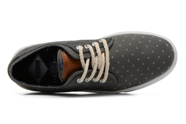 Sneaker Armistice Border Derby Ash Suede grau ansicht von links