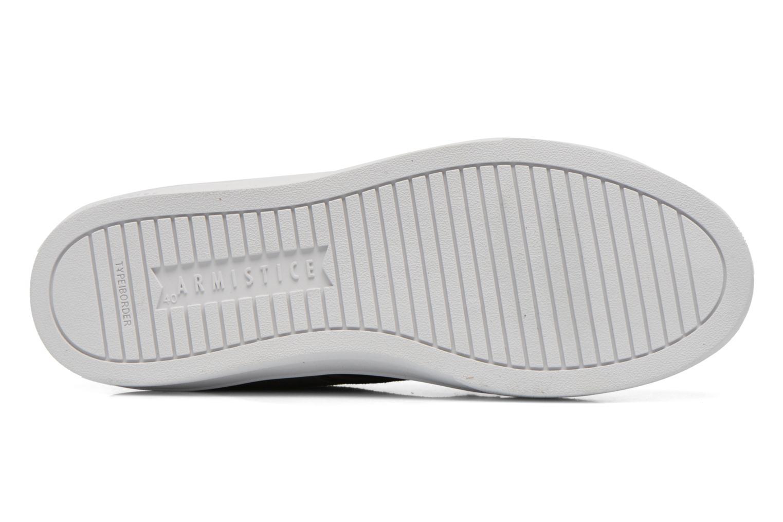 Sneaker Armistice Border Derby Ash Suede grau ansicht von oben