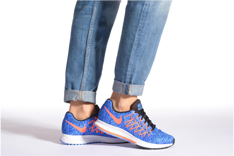 Sportschuhe Nike Wmns Air Zoom Pegasus 32 Print orange ansicht von unten / tasche getragen