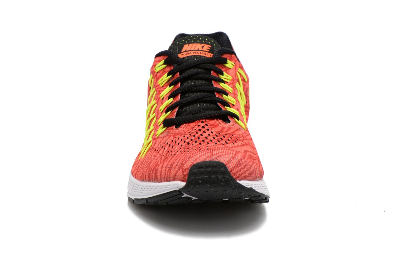 Chaussures de sport Nike Wmns Air Zoom Pegasus 32 Print Orange vue portées chaussures