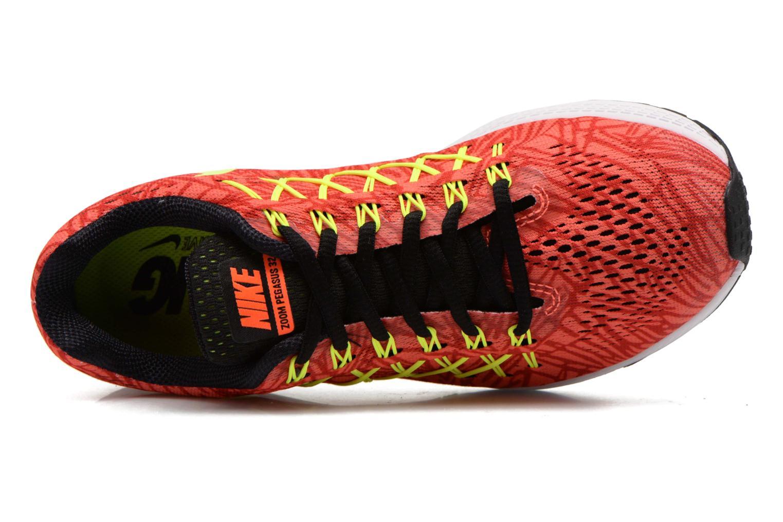 Sportschuhe Nike Wmns Air Zoom Pegasus 32 Print orange ansicht von links