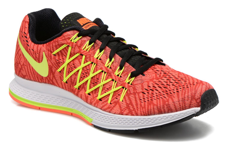 Chaussures de sport Nike Wmns Air Zoom Pegasus 32 Print Orange vue détail/paire