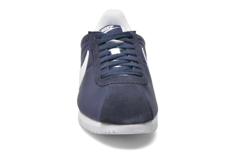 Trainers Nike Classic Cortez Nylon Blue model view