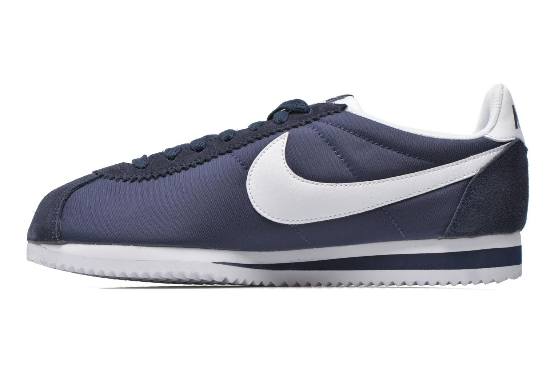 Sneakers Nike Classic Cortez Nylon Blå se forfra