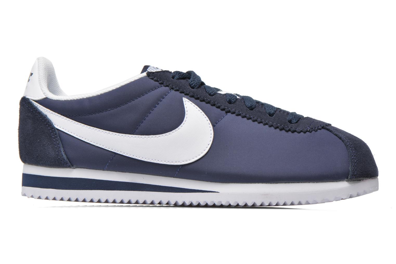 Trainers Nike Classic Cortez Nylon Blue back view