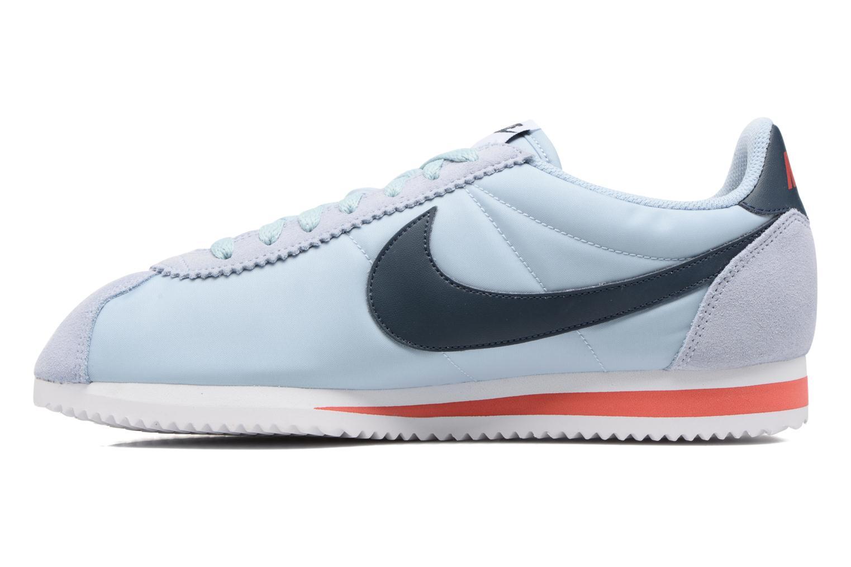 Sneakers Nike Classic Cortez Nylon Blauw voorkant