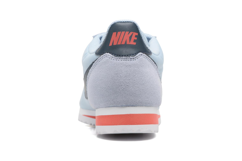 Sneakers Nike Classic Cortez Nylon Blauw rechts