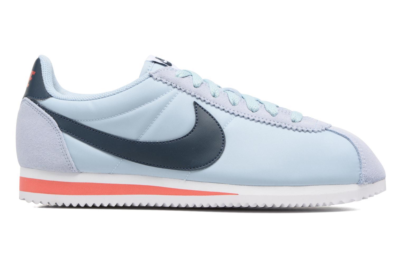 Sneakers Nike Classic Cortez Nylon Blauw achterkant
