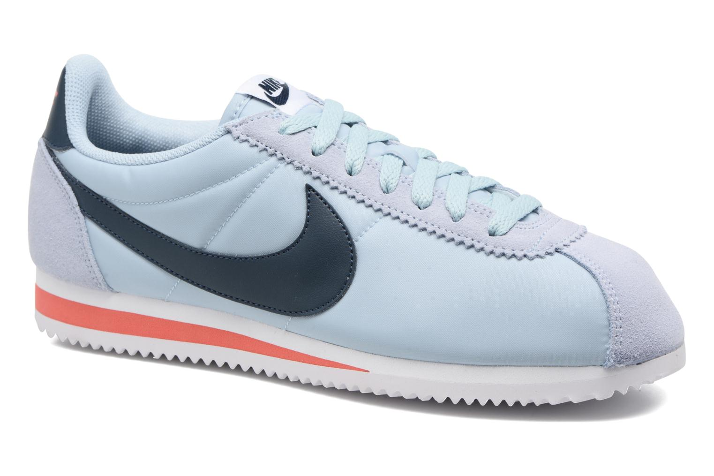 Sneakers Nike Classic Cortez Nylon Blauw detail