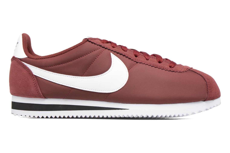 Sneakers Nike Classic Cortez Nylon Bordeaux achterkant