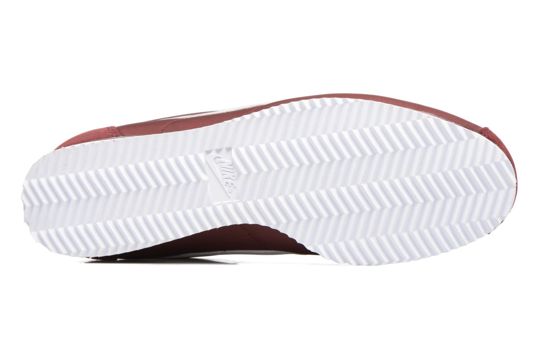 Sneakers Nike Classic Cortez Nylon Bordeaux boven