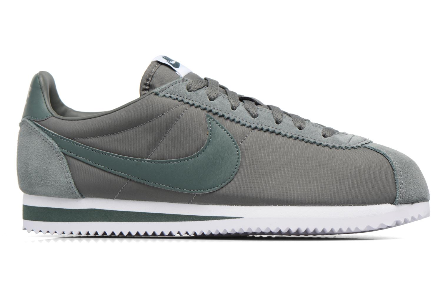 Classic Cortez Nylon River Rock/Vintage Green-White