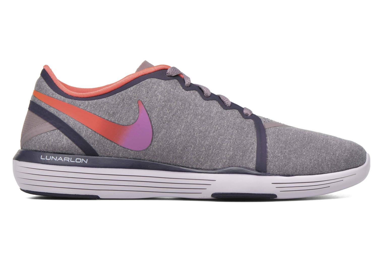 Sportschuhe Nike Wmns Nike Lunar Sculpt lila ansicht von hinten