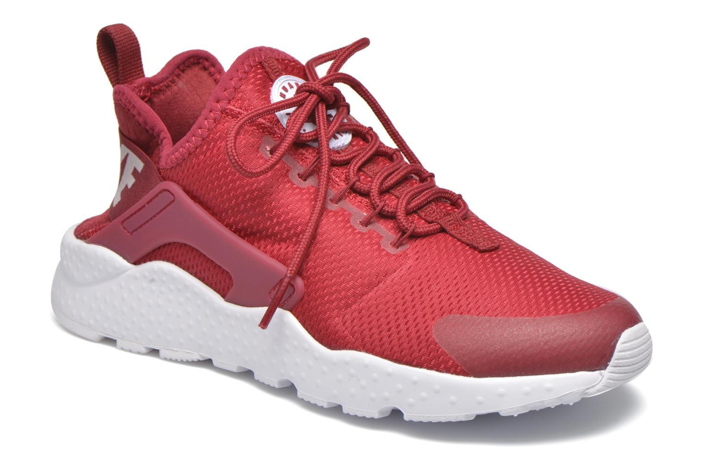 Baskets Nike W Air Huarache Run Ultra Rouge vue détail/paire