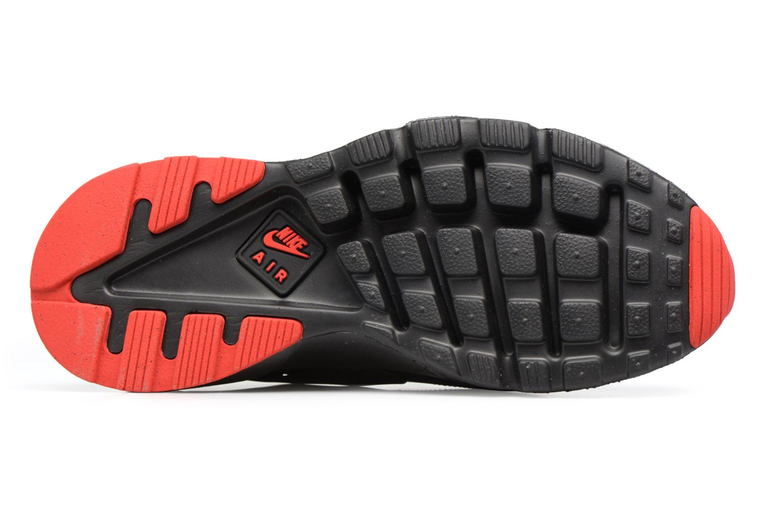 Nike Air Huarache Run Ultra Black/Metallic Silver-University Red