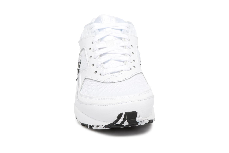 Baskets Nike Wmns Air Max Bw Blanc vue portées chaussures