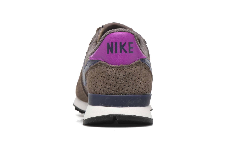 Baskets Nike W Internationalist Prm Marron vue droite