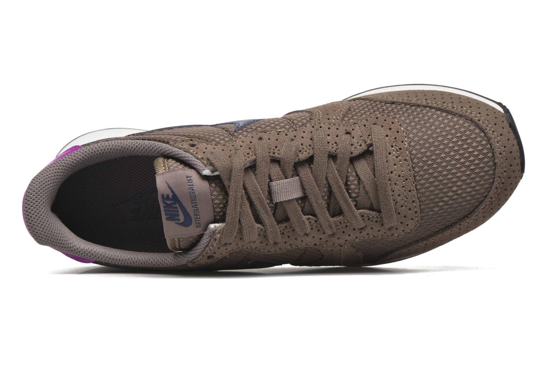 Sneaker Nike W Internationalist Prm braun ansicht von links