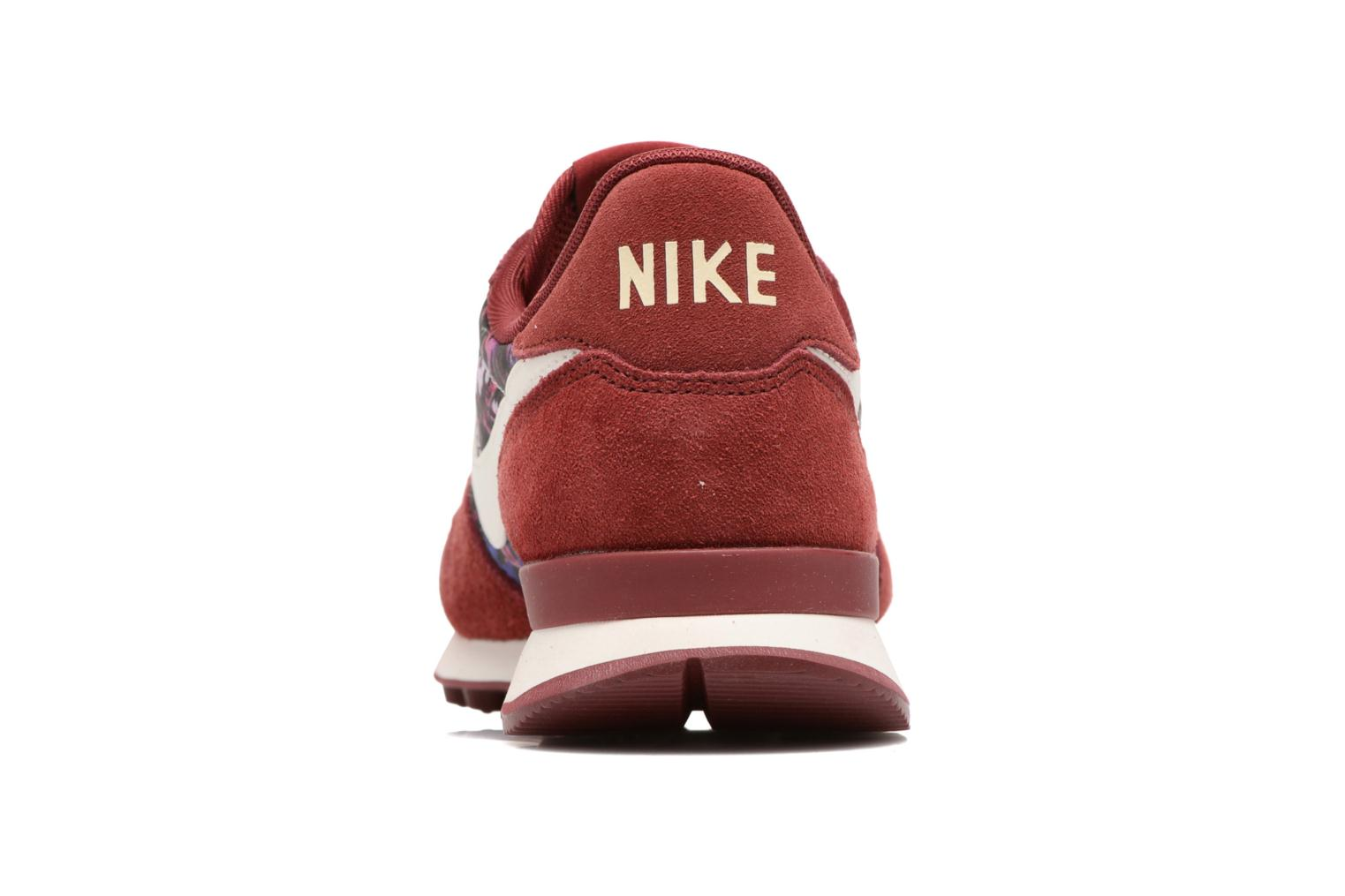 Trainers Nike W Internationalist Prm Burgundy view from the right