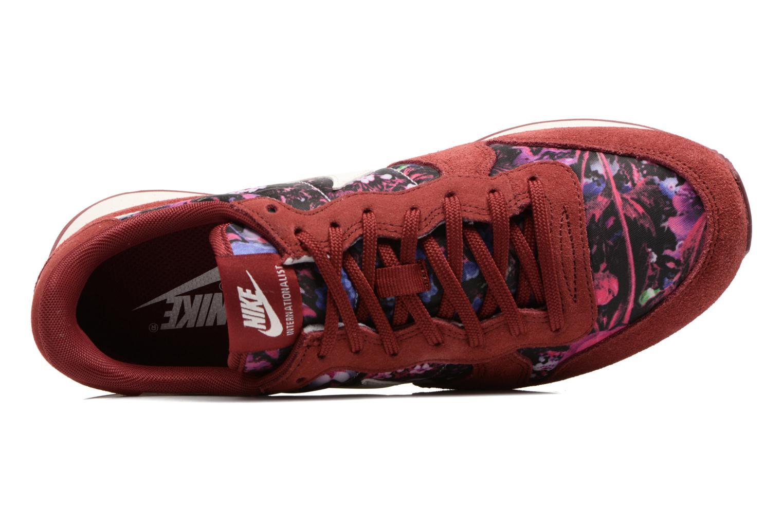 Baskets Nike W Internationalist Prm Bordeaux vue gauche