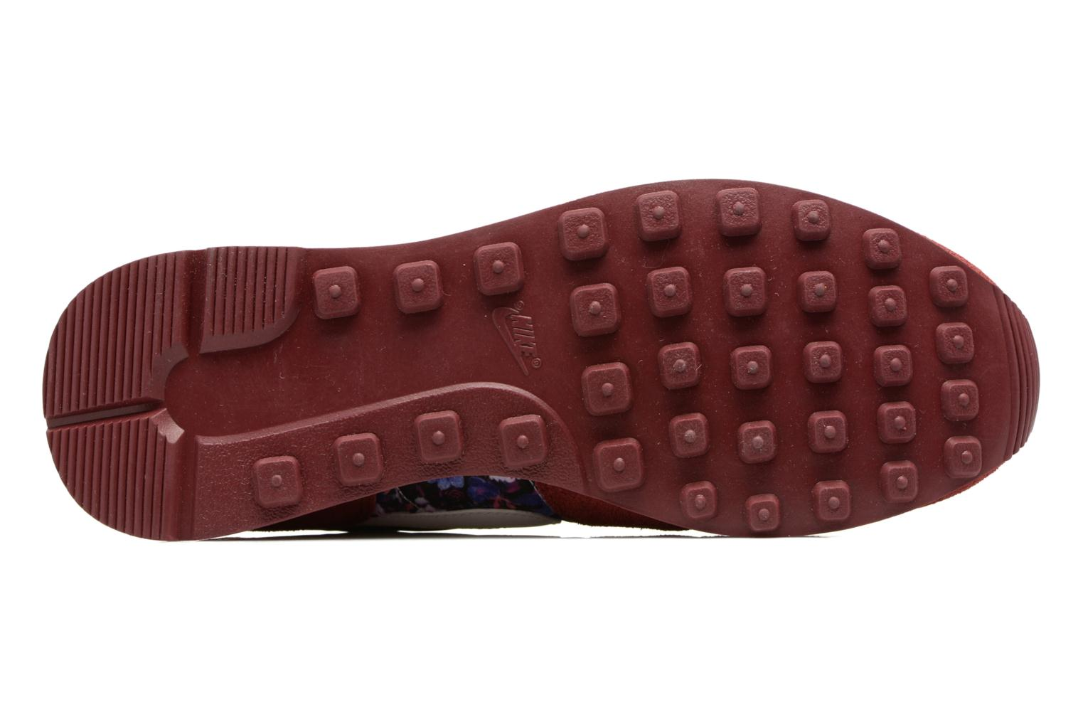 Trainers Nike W Internationalist Prm Burgundy view from above