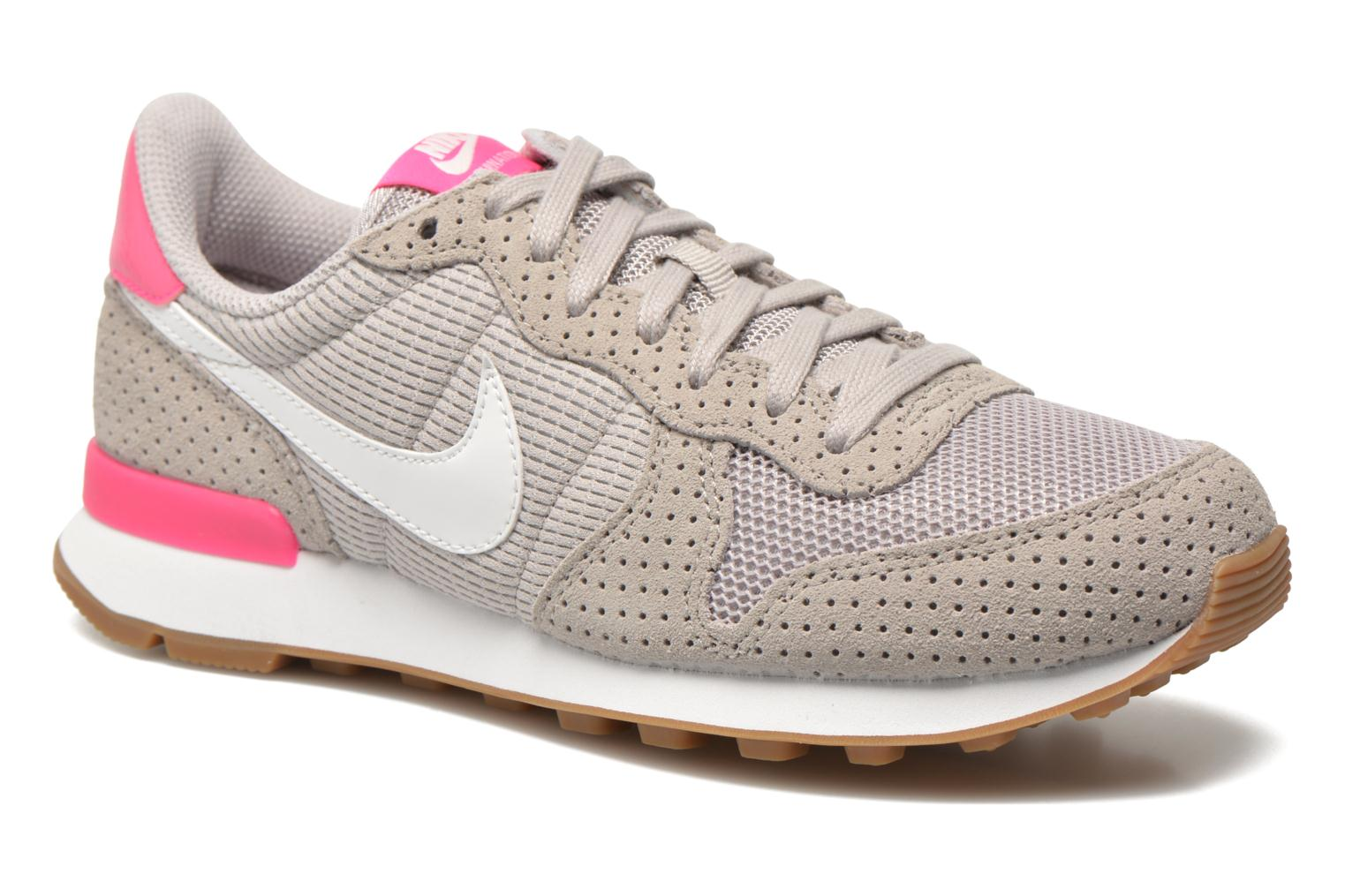 Baskets Nike Wmns Internationalist Gris vue détail/paire