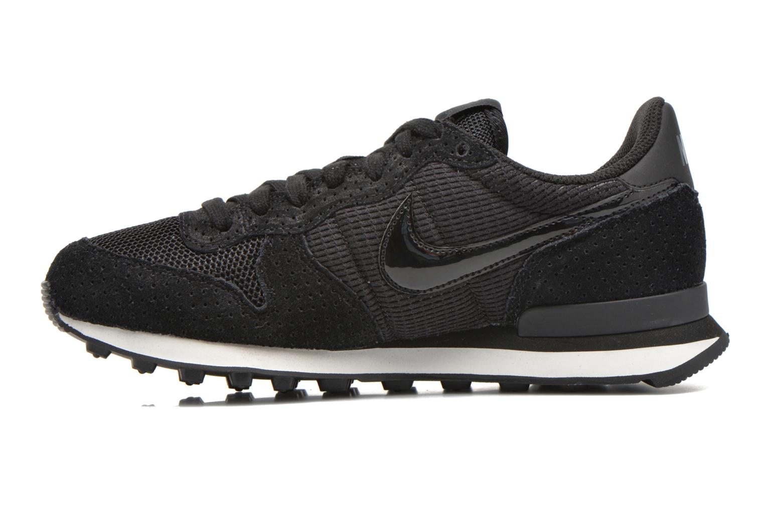 Wmns Internationalist Black/Black-Dark Grey-Smmt Wht
