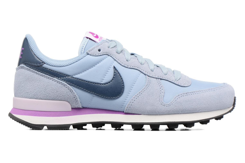 Sneaker Nike Wmns Internationalist blau ansicht von hinten
