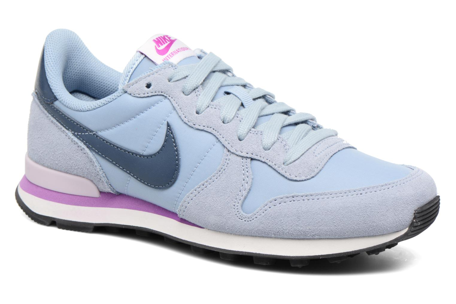 Sneakers Nike Wmns Internationalist Blauw detail