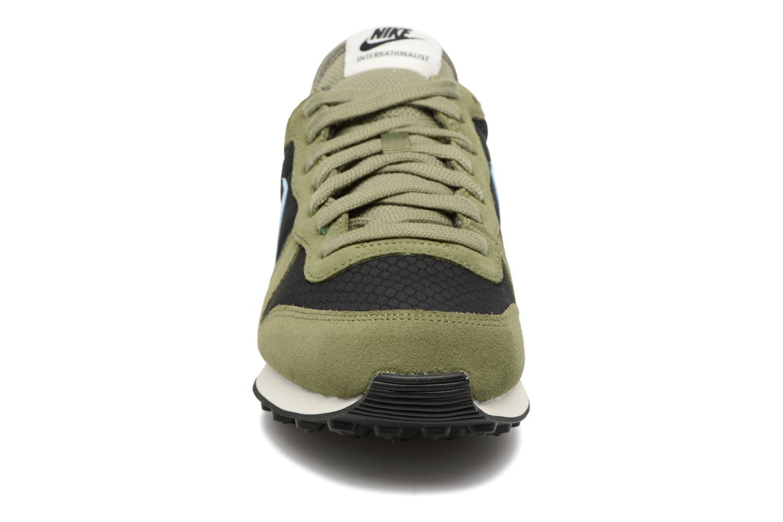 Sneakers Nike Wmns Internationalist Grön bild av skorna på