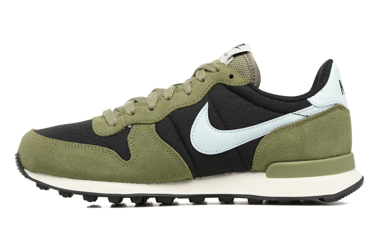 Deportivas Nike Wmns Internationalist Verde vista de frente