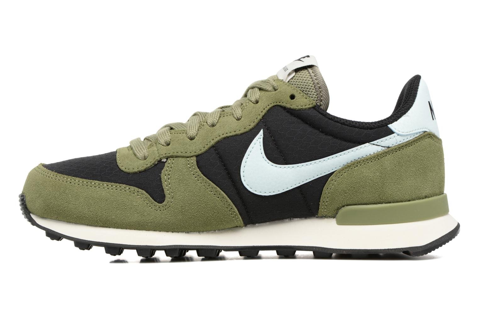 Trainers Nike Wmns Internationalist Green front view