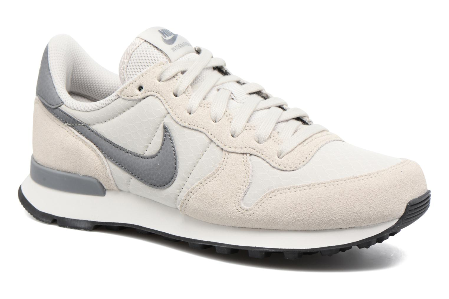 Baskets Nike Wmns Internationalist Blanc vue détail/paire