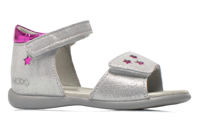 Sandalen Mod8 Garance silber ansicht von hinten