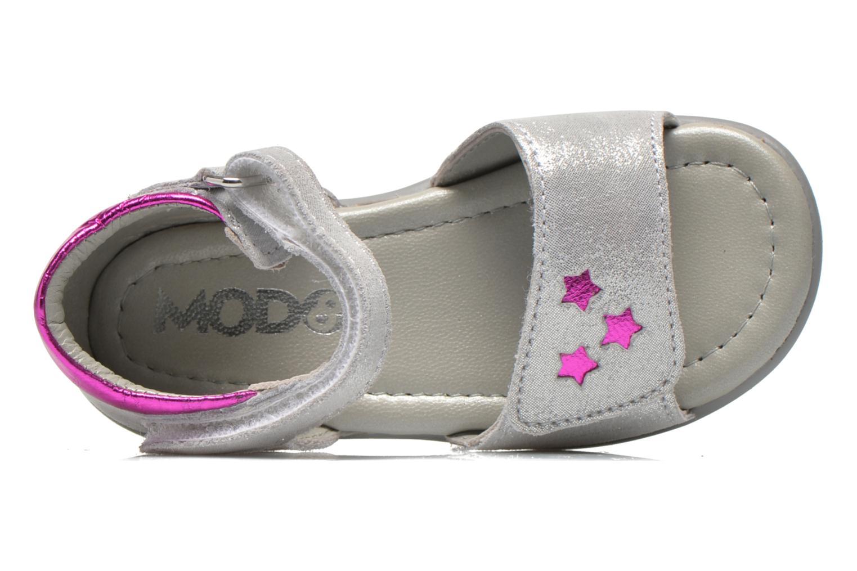 Sandales et nu-pieds Mod8 Garance Argent vue gauche