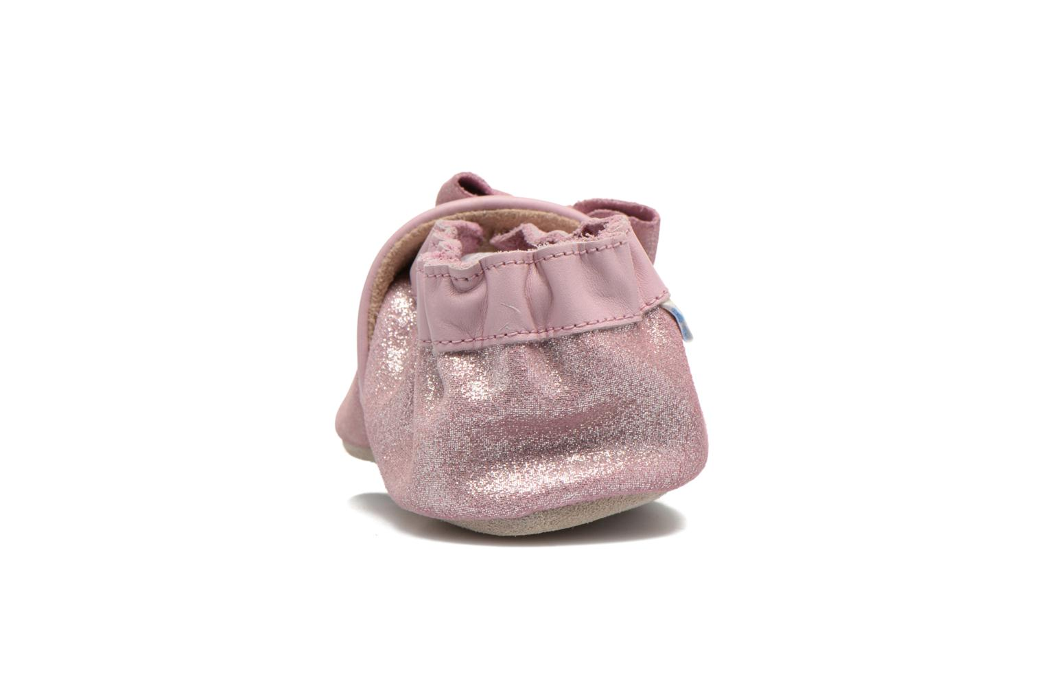 Chaussons Robeez Tender Knot Rose vue droite