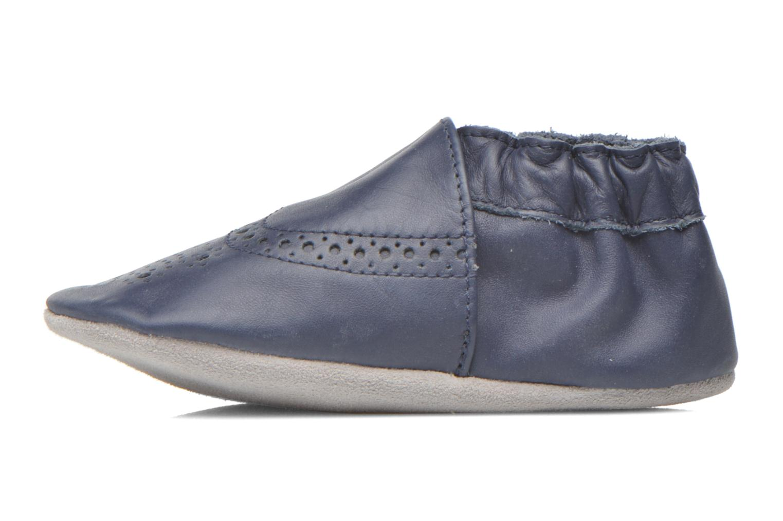 Slippers Robeez Smart Blue front view