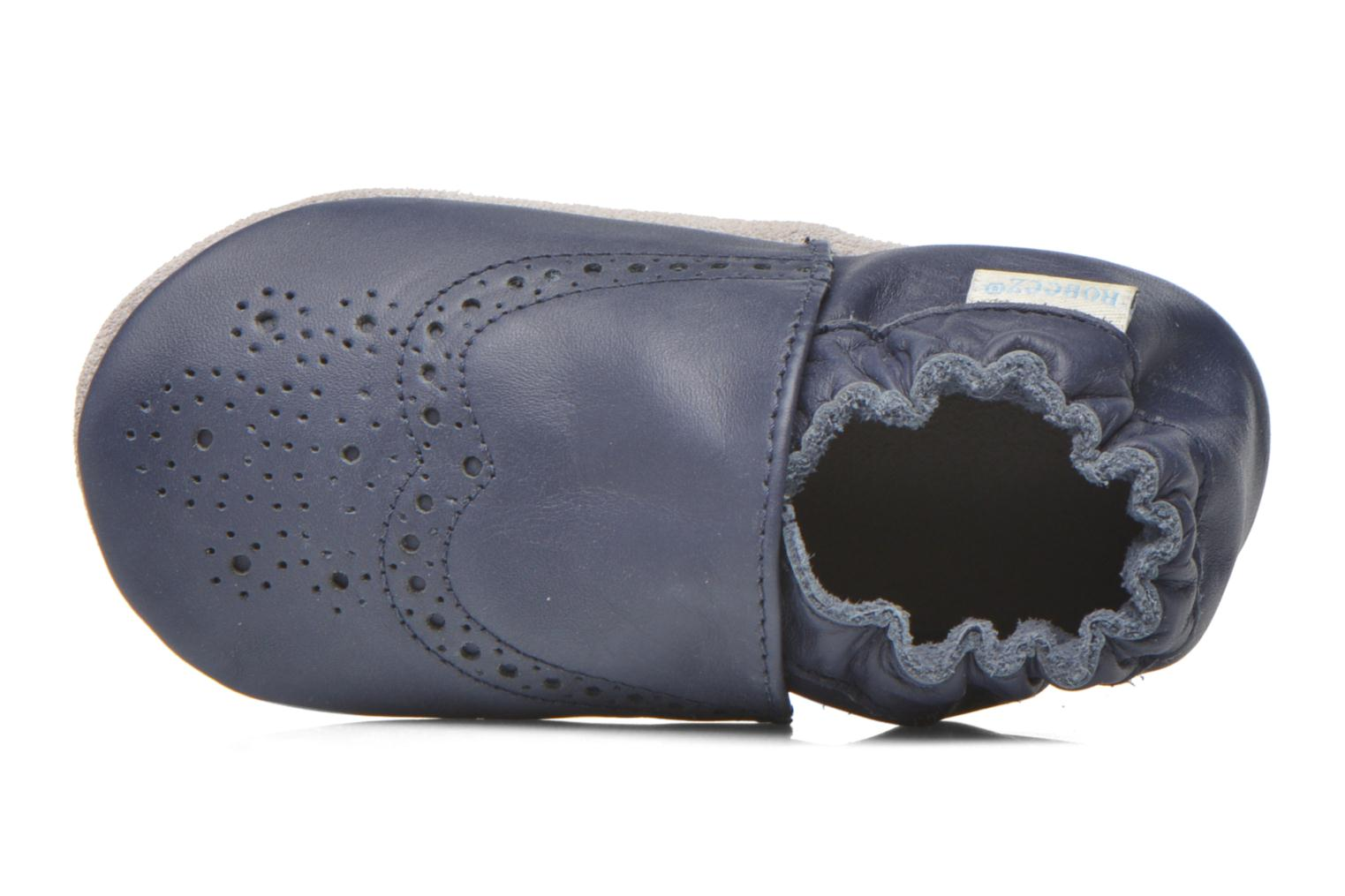 Slippers Robeez Smart Blue view from the left