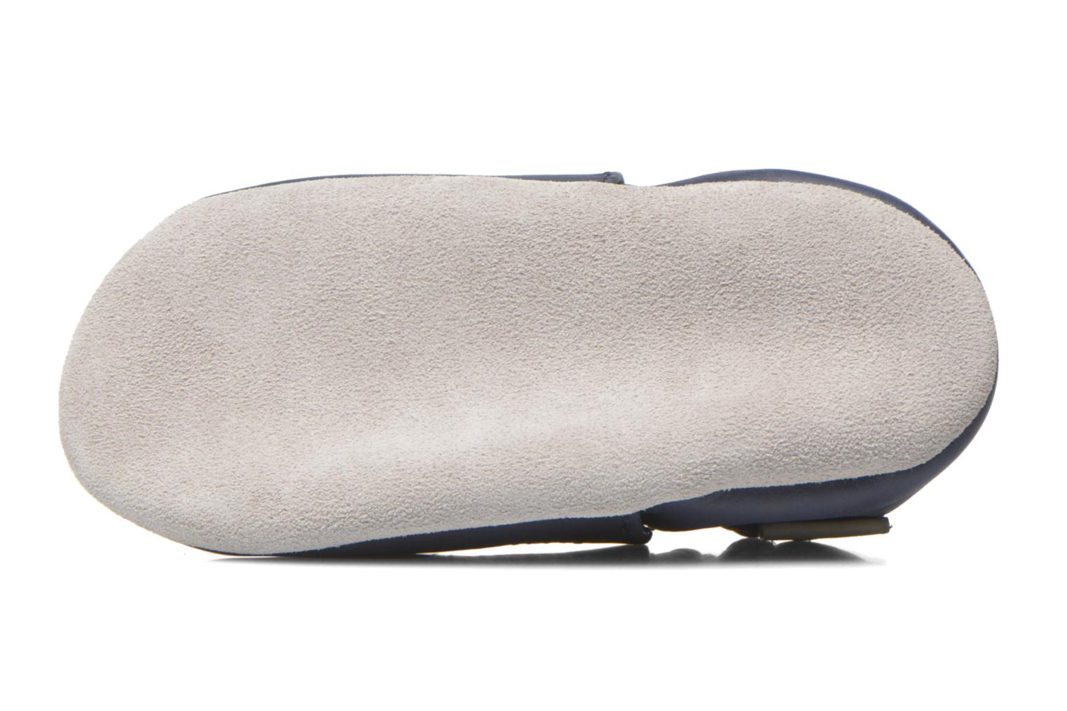Slippers Robeez Smart Blue view from above