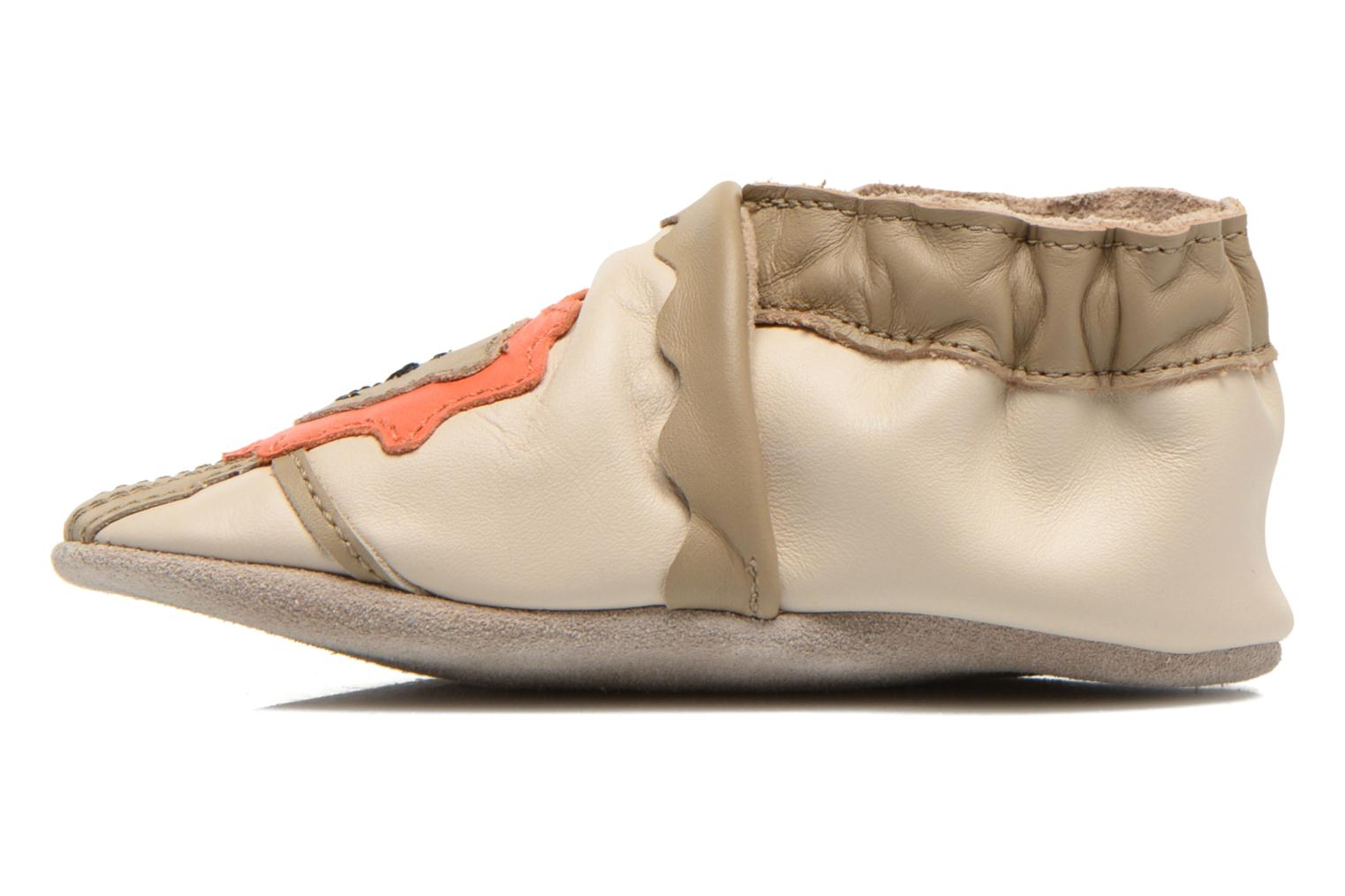 Chaussons Robeez Glory Beige vue face